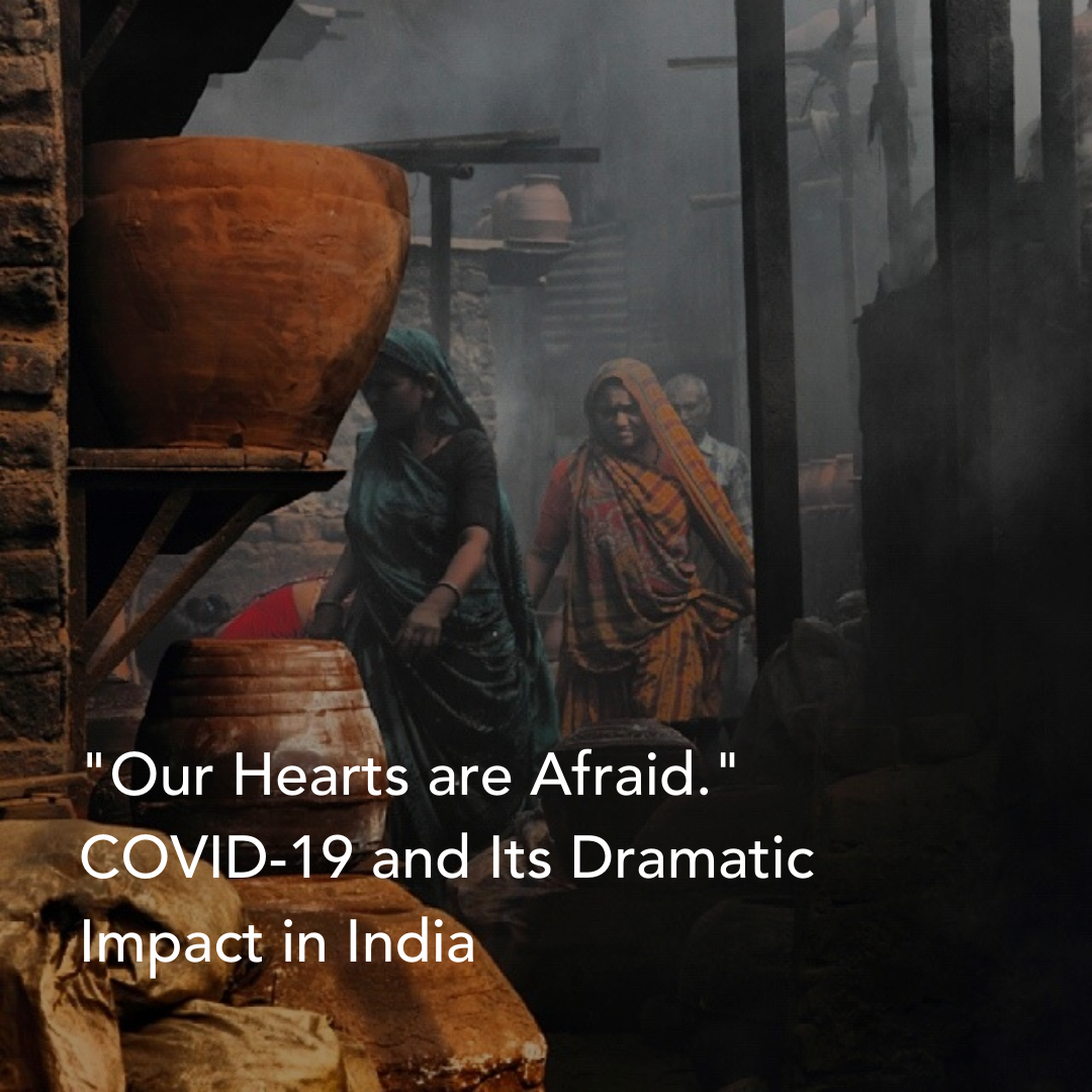 Our Hearts are Afraid.